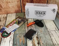 ESEE Knives Candiru Black w/Handle, Molded Polymer Sheath, a