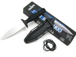 COLD STEEL Black COUNTER TAC I Stonewash Fixed Blade Knife +