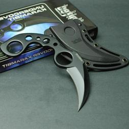 United Cutlery Black Finish Undercover Karambit Fixed Blade