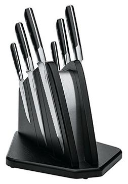Boker 03BO510SET Forge Knife Block Set, Black