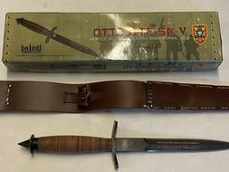 United Cutlery BOXED UNUSED V-42 Combat Knife Col Aaron Bank