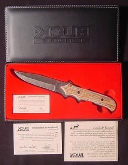 Buck Knife Model 970-SP2 2005 Limited Edition Custom Damascu