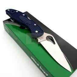 """Spyderco Byrd Meadowlark 2 Folding Knife 2.88"""" 8Cr13MoV Stee"""