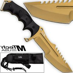 Call Of Duty Ghosts MTECH USA Knife Xtreme Gold Tactical Mil