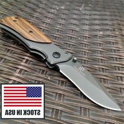 Camping Folding Knife 8Cr15 Blade Utility Tactical Survival