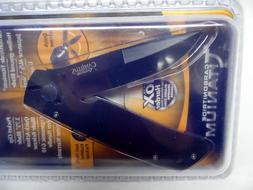 Camillus Carbonitride Titanium Cuda Black Folding Knife with