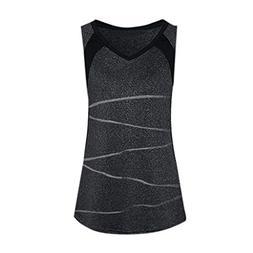 Mysky Women Casual Color Block Striped Slim Fit Activewear R