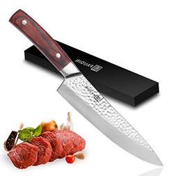 PAUDIN 8 inch Chef Knife - Pro Kitchen Knife High Carbon Sta