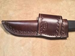 Custom Leather Crossdraw Sheath for Buck 622, 632 Knife