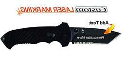 Custom Laser Engraved Gerber 06 FAST Knife