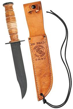 Case Military 00334 USMC Knife with Fixed 1095 Carbon Blade