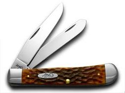 Case Cutlery 7011 Case Trapper Pocket Knife with Chrome Vana