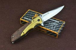 DA77 Quick Opening Sharp Tactical Pocket Knife Browning LIFE