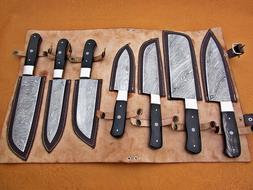 Damascus Steel Handmade Custom Chef Kitchen Knives Professio