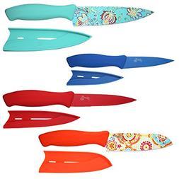 Fiesta 8 Piece Decal Cutlery Set, Multicolor