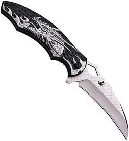 """Dark Side Ballistics DS-A007SL Spring Assisted Knife, 4.75"""""""