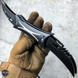 Dual QUAD Blade Fantasy Cosplay Folding Pocket Knife Tactica