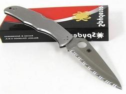Spyderco Endura 4 C10S Stainless Steel