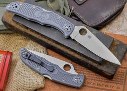 Spyderco Endura4 Lightweight FRN Flat Ground PlainEdge Knife