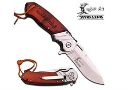 Free Engraving - Quality Elk Ridge Pocket Knife