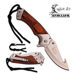 Elk Ridge Free Engraving Gut Hook Pocket Knife