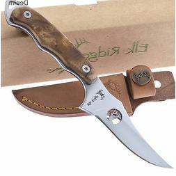 Elk Ridge ER-059CA Fixed Blade Knife, 7-Inch Overall ER059CA