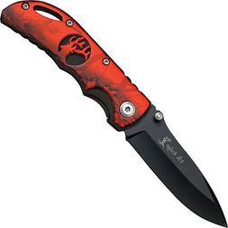 Elk Ridge ER-134RCB Closed Folding Knife, 3-Inch