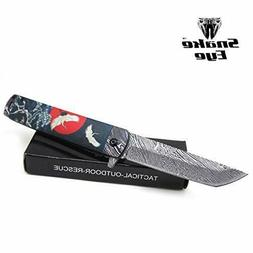 Snake Eye Tactical Everyday Carry Tanto-Blade Folding Knife