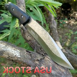 Fixed Blade Knife Bushcraft Knives Survival Straight Tactica