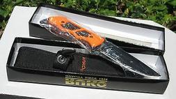 Ruko Fixed Blade Knife - Straight Edge