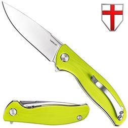 Spring Assisted Knife - Pocket Folding Knife - Military Styl