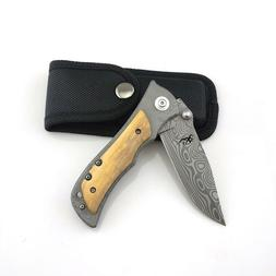 Folding Blade Knife Pocket Camping Hunting Outdoor Knives Ta