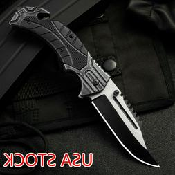 Folding Knife Tactical Survival Knives Hunting Camping Blade