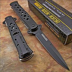 Tac-force Black Tactical Folding Pocket Knife NEW