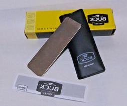 Genuine Buck Knives Edgetec Pocket stone diamond sharpener w