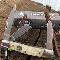 """Grand Dad's Favorite 2 3/4"""" Stockman Pocket Hunting Tactical"""