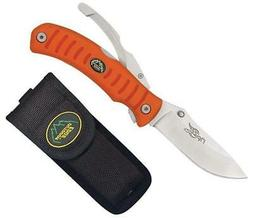 Outdoor Edge Grip-Lite Lockback with Orange Kraton Handle