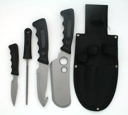 Snake Eye Tactical Heavy Duty 5PC Big Game Hunting Knife Set