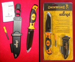 Browning Ignite Knife Blaze Orange