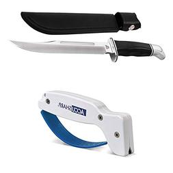 Bundle Includes 2 Items - Buck Knives 120 General Fixed Blad