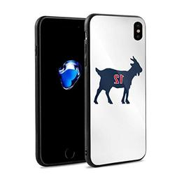 iPhone X/XS Case, Blue Navy England Brady Goat Ultra Thin Ha