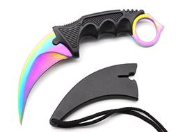 karambit knife stainless steel fixed