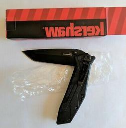 Kershaw Brawler 1990 Black Folding Pocket Knife NEW IN BOX