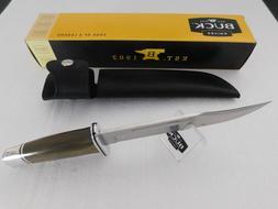 BUCK KNIFE 120 GENERAL OD GREEN MICARTA HANDLE