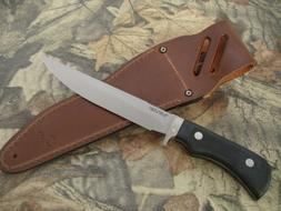 knife boar hunter wild hunting belt sheath