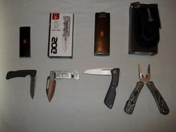 Gerber Knife Lot  22-0147, Sharkbelly 420HC, US1, SOG Cash C