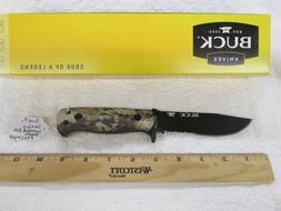 Buck Knives 822CMX26 Sentry Kryptek Highlander Fixed Blade K
