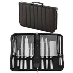 HQY Professional Knives, Premium Stainless Steel 9 Piece Che