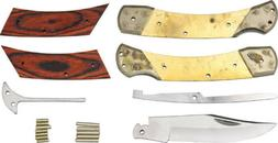 "Rough Rider Knives Custom Shop Large Lockback Kit Makes 5"" C"