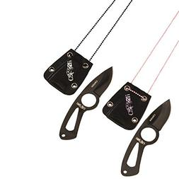 Kut Master 91-LT2265CP The Crush His and Hers Neck Knives